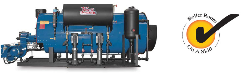 Hurst Boiler Skid Packaged Boiler Systems