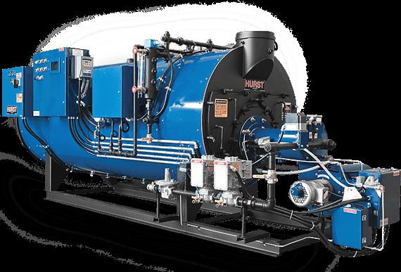 Two Pass Semi Wet Back Scotch Marine Boilers Series 250