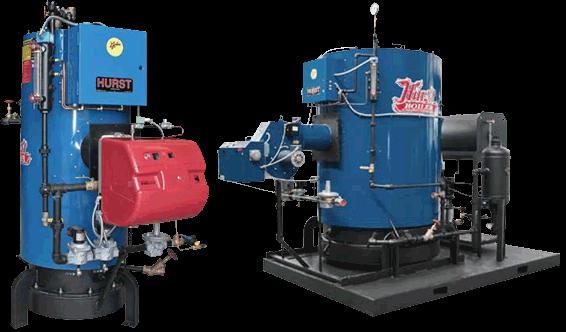 Vix Series Packaged Vertical Firetube Boiler