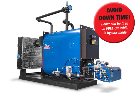 Hot Water Hybrid Condensing System