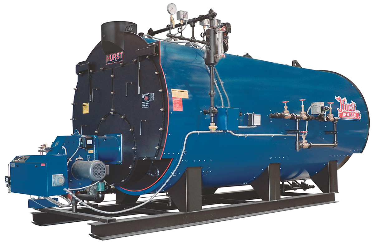 High Pressure Low Emission Scotch Marine Boiler | 4 Pass | Series 500
