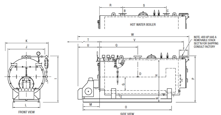 scotch marine firetube boiler 3 pass euro series boiler electrical schematics hot water model trim