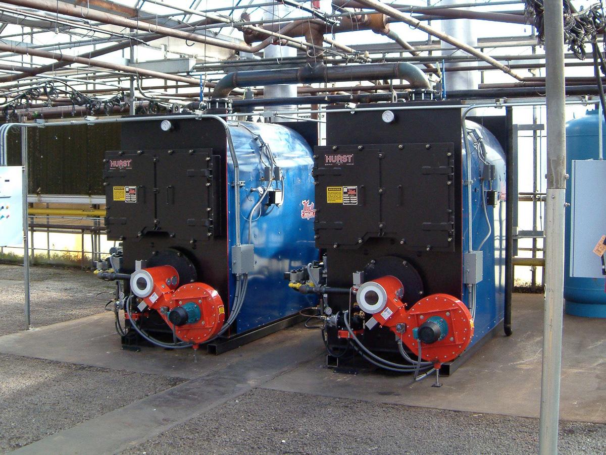 Hurst Three Pass Firebox Packaged Boiler   Series 100