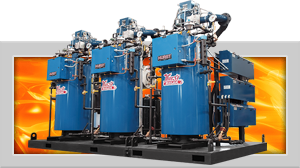 Skid Packages for Steam and Hot Water Boiler Systems